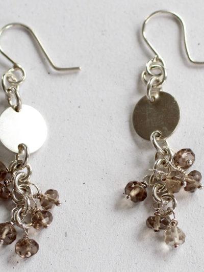 designer silver earings
