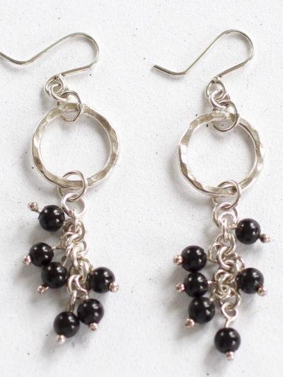 designer silver earrings