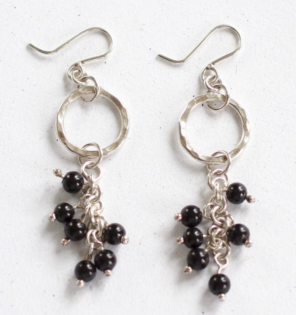 designer silver earrings
