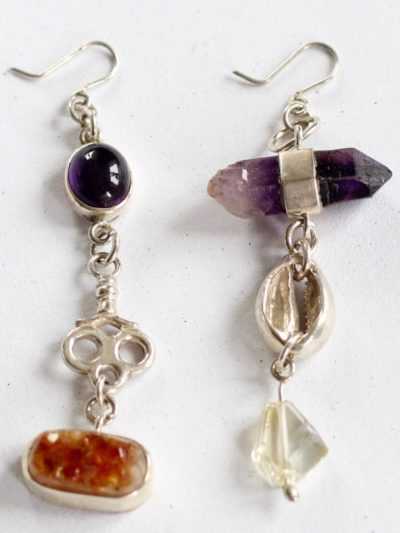 handcrafted gemstone earings