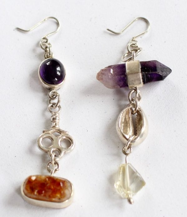 handcrafted gemstone earings