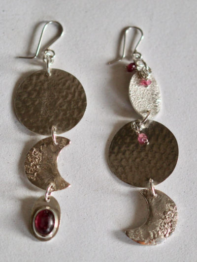 handcrafted gemstone earrings