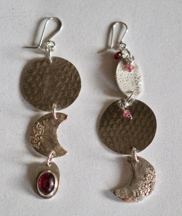 handcrafted gemstone earrings